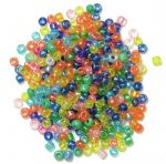 CF01\20 Seed Beads: 2mm: 5 Packs of 15g - Full Colour Range